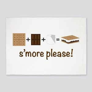 SMore Please 5'x7'Area Rug