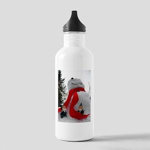 Little Builders Stainless Water Bottle 1.0L