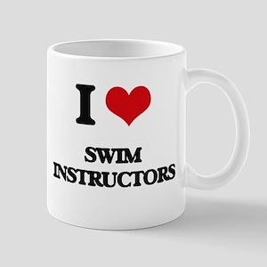 I love Swim Instructors Mugs