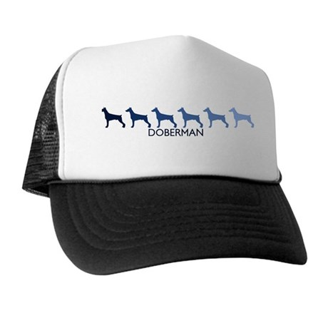 Doberman (blue color spectrum Trucker Hat