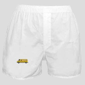 School Bus Kids Boxer Shorts
