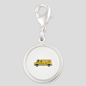 School Bus Kids Charms