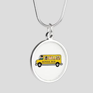 School Bus Kids Necklaces