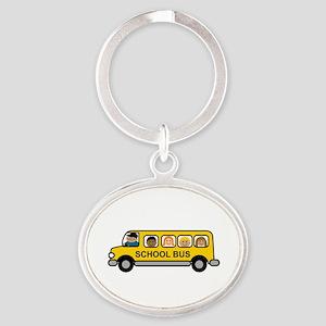 School Bus Kids Keychains