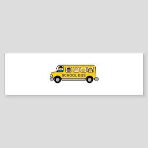 School Bus Kids Bumper Sticker