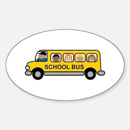 School Bus Kids Decal