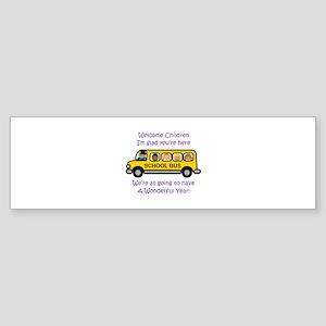 Welcome Childern Bumper Sticker