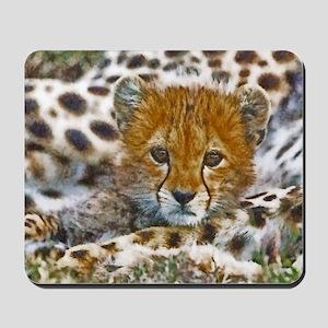 Cheetah Cub Mousepad