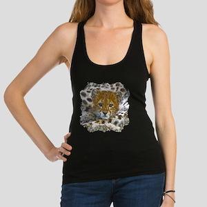 Cheetah Cub Racerback Tank Top