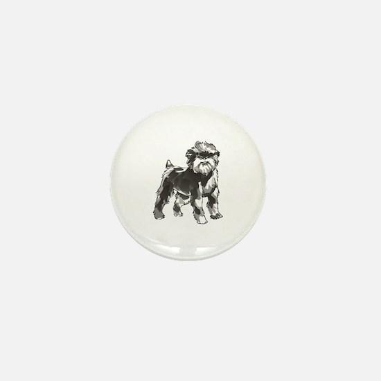 AFFENPINSCHER DOG Mini Button
