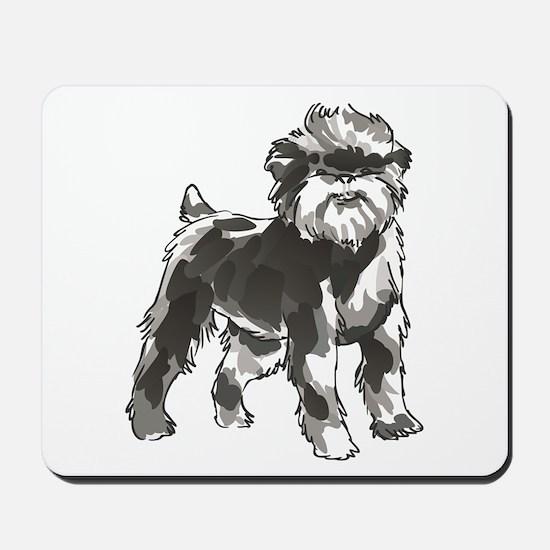 AFFENPINSCHER DOG Mousepad