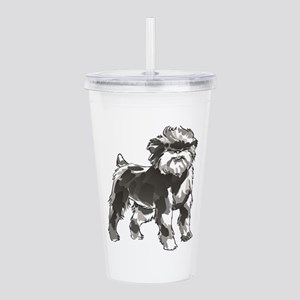AFFENPINSCHER DOG Acrylic Double-wall Tumbler