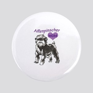 "AFFENPINSCHER MOM 3.5"" Button"