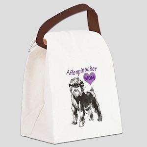 AFFENPINSCHER MOM Canvas Lunch Bag
