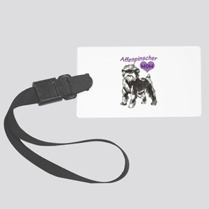 AFFENPINSCHER MOM Luggage Tag