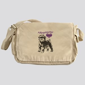 AFFENPINSCHER MOM Messenger Bag