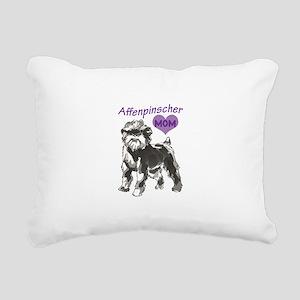AFFENPINSCHER MOM Rectangular Canvas Pillow