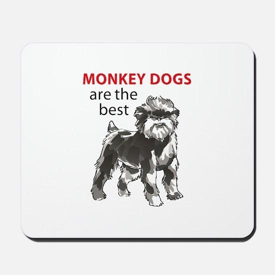 MONKEY DOGS Mousepad