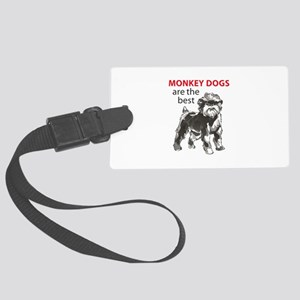 MONKEY DOGS Luggage Tag