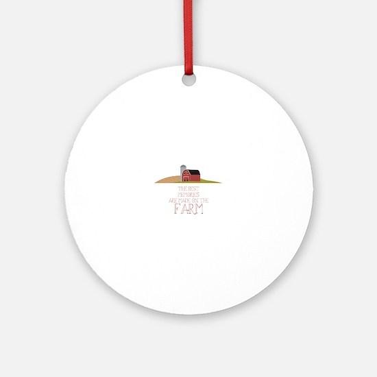 Farm Memories Ornament (Round)