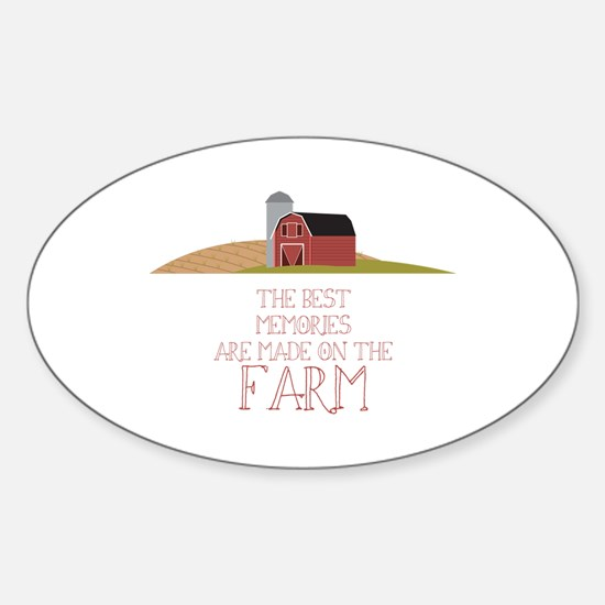 Farm Memories Decal