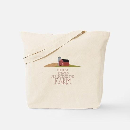 Farm Memories Tote Bag