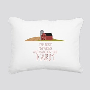 Farm Memories Rectangular Canvas Pillow
