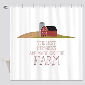 Farm Memories Shower Curtain