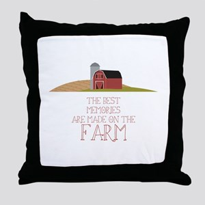 Farm Memories Throw Pillow