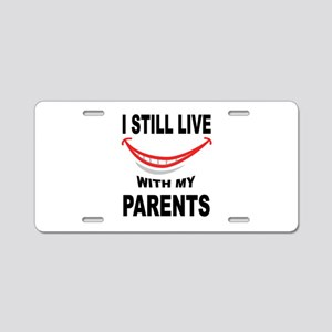 PARENTS Aluminum License Plate