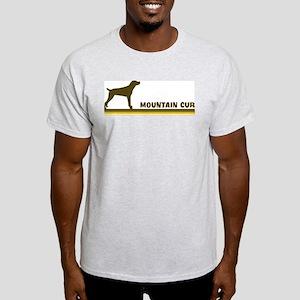 Mountain Cur (retro-blue) Light T-Shirt
