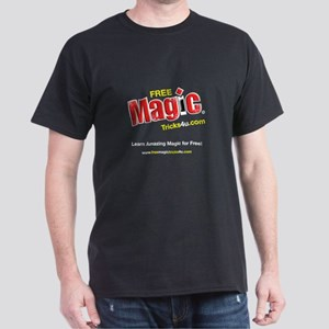 FreeMagicTricks4u.com Dark T-Shirt