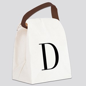 D-bod black Canvas Lunch Bag