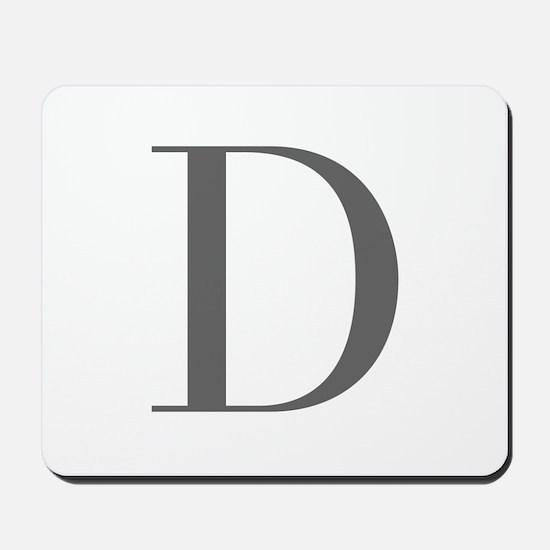 D-bod gray Mousepad