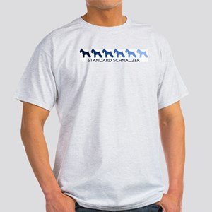 Standard Schnauzer (blue colo Light T-Shirt