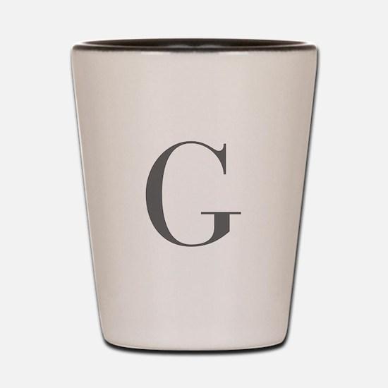 G-bod gray Shot Glass