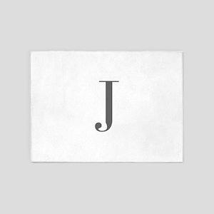 J-bod gray 5'x7'Area Rug