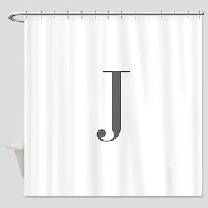 J-bod gray Shower Curtain
