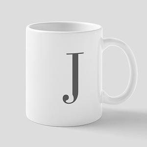 J-bod gray Mugs