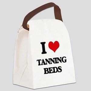 I love Tanning Beds Canvas Lunch Bag