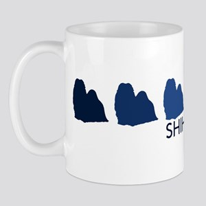 Shih Tzu (blue color spectrum Mug