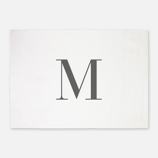 M-bod gray 5'x7'Area Rug