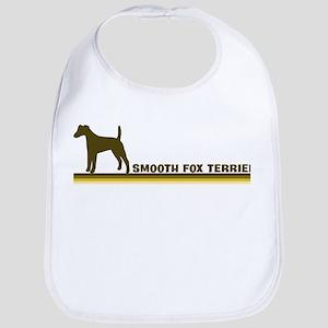 Smooth Fox Terrier (retro-blu Bib