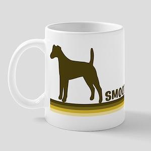 Smooth Fox Terrier (retro-blu Mug