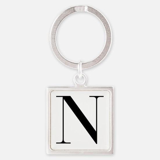 N-bod black Keychains