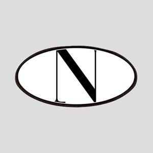 N-bod black Patches