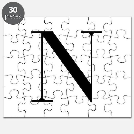 N-bod black Puzzle