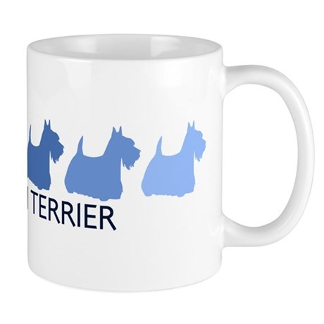 Scottish Terrier (blue color Mug