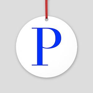 P-bod blue Ornament (Round)