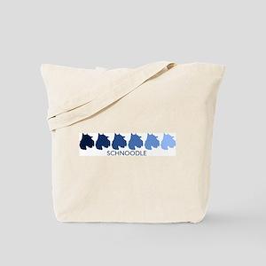 Schnoodle (blue color spectru Tote Bag